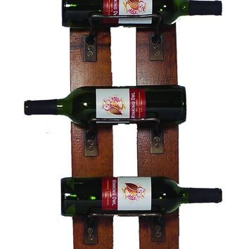 Wine Barrel Wine Rack 5 Bottle by 2 Day Designs 4100