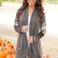 Casual Long Sleeve Sweater Coat
