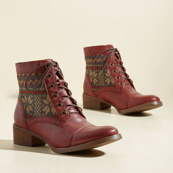 Make It Worth Fair Isle Vegan Boot