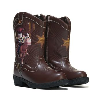 TOY STORY Toy Story Giddyup Cowboy Boot Toddler/Preschool Brown