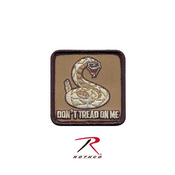 Don't Tread On Me Patch - Hook Backing