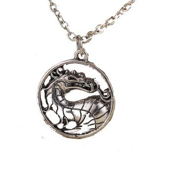 Dragon Vintage Pendant Movie Necklace For Men