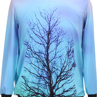 Lonely Forest Blue Pullover