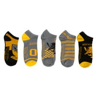Harry Potter Hufflepuff No-Show Socks 5 Pair