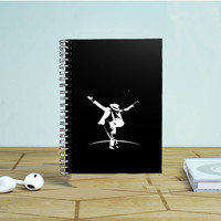 Michael Jackson Vector Photo Notebook Auroid