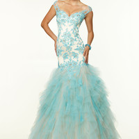 Paparazzi by Mori Lee 97118 Sale Prom Dress