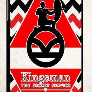kingsman logo X0329 iPad 2 3 4, iPad Mini 1 2 3, iPad Air 1 2 , Galaxy Tab 1 2 3, Galaxy Note 8.0 Cases