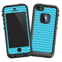 """Blue Waves """"Protective Decal Skin"""" for LifeProof fre iPhone 5/5s Case"""