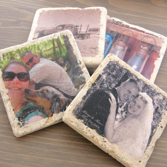 Personalized Photo Coasters Custom From Oakvalleycrafts