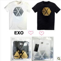 Q K-POP EXO K M XOXO T-Shirt cute hot sale fashion Tee Tshirt