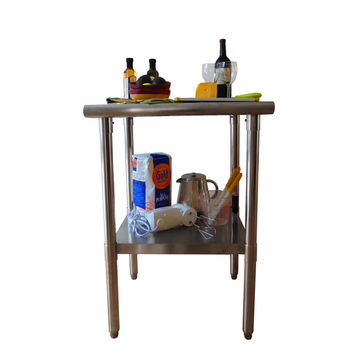 Trinity EcoStorag 24-inch Stainless Steel Table | Overstock.com Shopping - The Best Deals on Butcher Blocks
