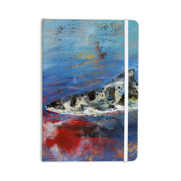 "Josh Serafin ""Sea Leopard"" Blue Shark Everything Notebook"
