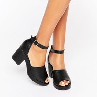 New Look High Vamp Chunky Heel