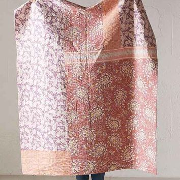 Plum & Bow Tula Kantha Throw Blanket