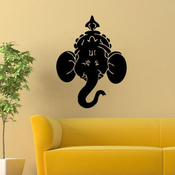 Ganesha Lord Vinyl Wall Decal