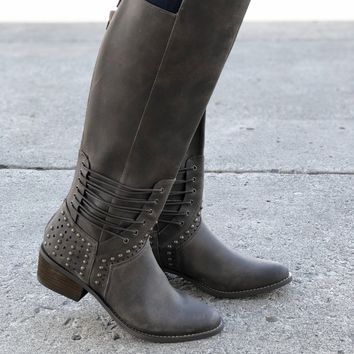 Not Rated Rumi Boots - Khaki