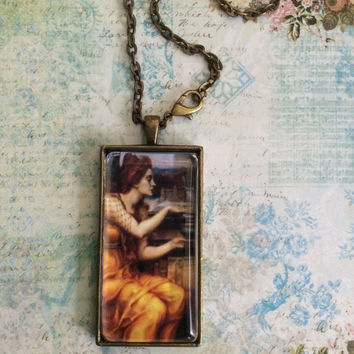 Forlorn A  Self Expression Pendant Necklace By Alteredhead