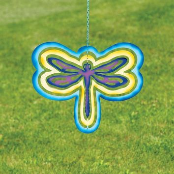 Multicolor Cutout Dragonfly Hanging Ornament - New item!
