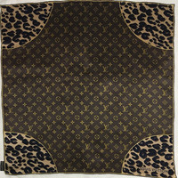 """Free postage  Auth Louis Vuitton silk scarf handrolled (26""""x26"""") 143"""