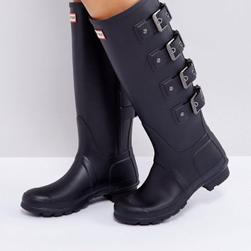 Hunter Original Tall Black Mercury Boot at asos.com