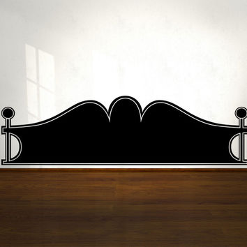 Vinyl Wall Decal Sticker Bed Frame #OS_MG151