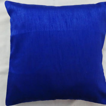 16 inches hand loom polyester silk pillow case slip cover 40 cm square handmade cushion cover couch sofa chair throw