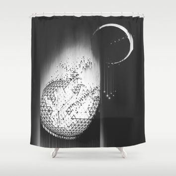 Truth Seekers Only Shower Curtain by Ducky B