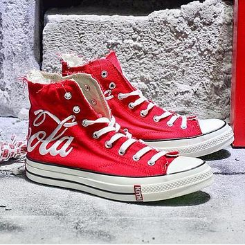 f2157496c950 Best Onlie Sale KITH x Coca Cola x Converse Chuck Taylor All Sta. men women  Sneakers
