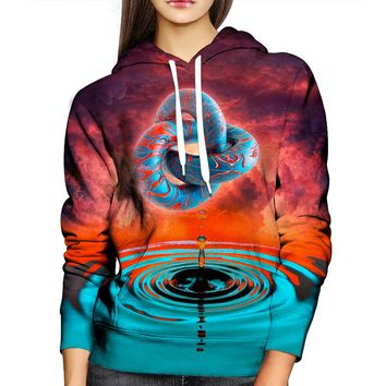A Psychedelic Womens Hoodie