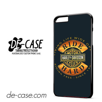 Harley Davidson Motorcycles Ride Hard since 1903 DEAL-5050 Apple Phonecase Cover For Iphone 6/ 6S Plus