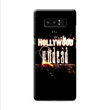 Hollywood Undead Flame Samsung Galaxy Note 8 case