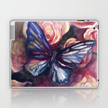 Scent Of Roses Laptop & iPad Skin by MIKART