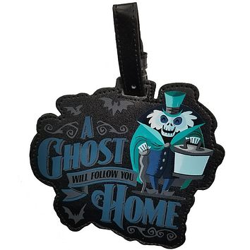 Disney Haunted Mansion A Ghost Will Follow You Home Luggage Tag New with Tags