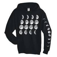 Moon Phases Hooded Sweatshirt