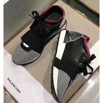 x1love  BALENCIAGA fashion casual shoes