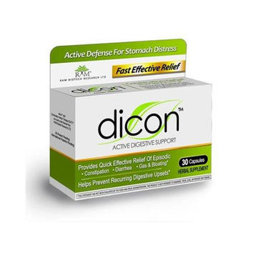 Dicon Active Digestive Supplement - 30 Caps  10% Off Auto renew