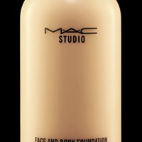 M·A·C Cosmetics | Products > Foundation > M·A·C Studio Face and Body Foundation 120 ml