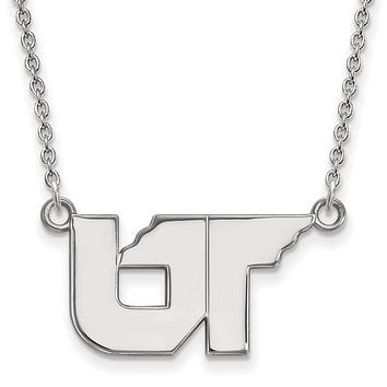 NCAA Sterling Silver U of Tennessee Small Pendant Necklace