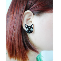 Adorable Sailor Moon Luna Earring SP152244