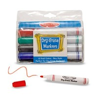 Melissa & Doug Dry-Erase Marker Set (4 pc)