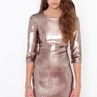 Derora Sequin Dress in What's New at Nasty Gal