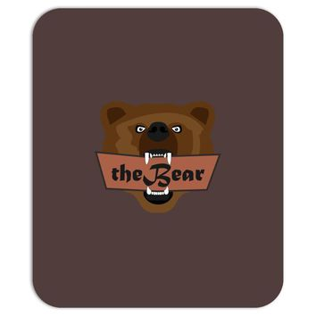 the bear Mousepad