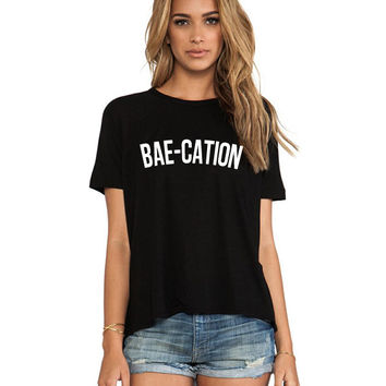 Bae-Cation Unisex T shirt