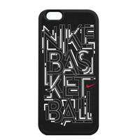 Nike Basketball iPhone 6 Cases - Hard Plastic, Rubber Case