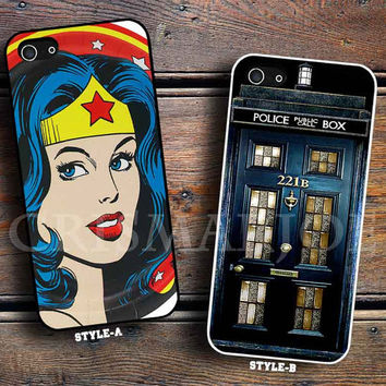 Wonder woman and Tardis