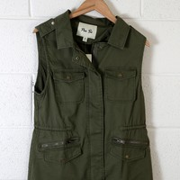 Army Vest, Olive