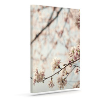 "Catherine McDonald ""Japanese Cherry Blossom"" Outdoor Canvas Wall Art"