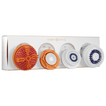 Sephora: Clarisonic : Head-to-Toe Smart Brush Head Collection : facial-cleansing-brushes