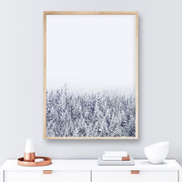 A Tale of Snow #society6 by 83 Oranges®