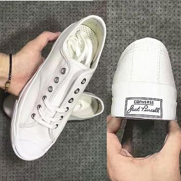 One-nice™ CONVERSE Flat sports shoes leisure shoes white H-CSXY